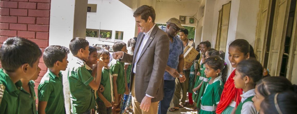 Ambassador Earl Miller visited Rohingya Refugee Camps