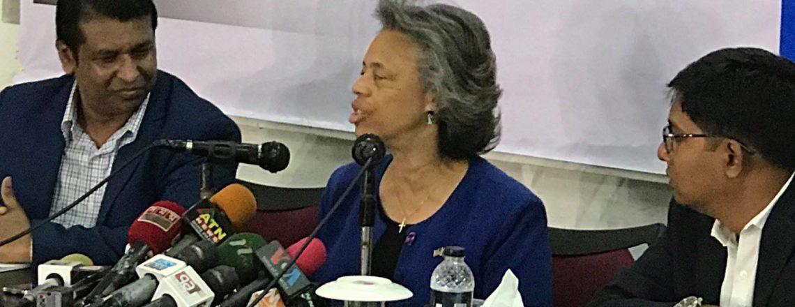 """U.S. Ambassador Marcia Bernicat at """"DCAB TALK"""""""