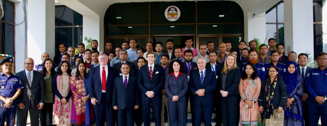 Opening Ceremony of South Asia Regional Financial Investigations Workshop
